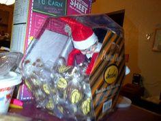 Suzy loves chocolate!  Elf on the shelf