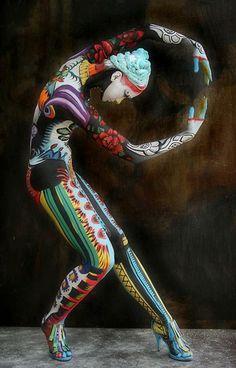 Art is a marriage of the conscious and the unconscious.  ~ Jean Cocteau  @Body Art by Ciuccia Punti