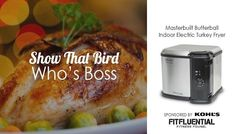 Ditch the Kitchen: Prep Your Thanksgiving Menu   Masterbuilt Butterball Indoor Electric Turkey Fryer. Sponsored by Kohl's