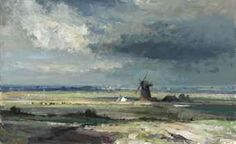 Thurne Mill, Norfolk by Edward Seago. Price Realized: £50,450, 31 May 2012 | Christie's