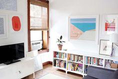 Peek Inside the Brooklyn Home of our Favorite Envelope Artist | Design*Sponge | Bloglovin'