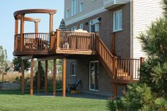 When staining your wood fence, deck, railing, gate or other type of outdoor wood structure be sure to clean the wood properly and, after it dries, follow the manufacturer's suggestions for application.