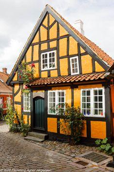 Faaborg, Denmark, timber frame house