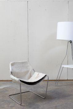 Modern white chair from HD Buttercup. #HDButtercupxgoop
