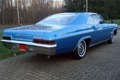 My first car: 1966 Impala SS, exactly like this. My God, The fun I had in that car! #chevroletimpala1966