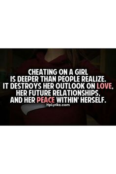 When you find out your significant other has been unfaithful, the realisation can be earth-shattering. Knowing that your trust and...