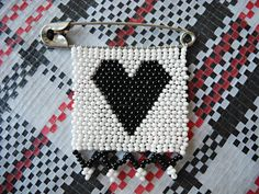 Zulu Love Letter in black and white by NOUSH on Etsy: $8,-