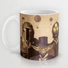 Victorian Wars Mug by Terry Fan   Society6