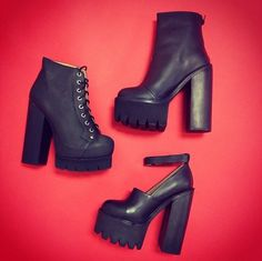 '90s-inspired Lug Sole Jeffrey Campbell Collection