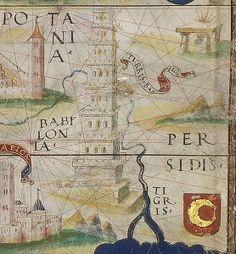 fragment d'une carte de Babylone