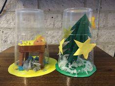 #Kerst #knutselen #middenbouw #jezus #sneeuwbol Snow Globes, Winter, Home Decor, Amazing, Winter Time, Decoration Home, Room Decor, Interior Decorating
