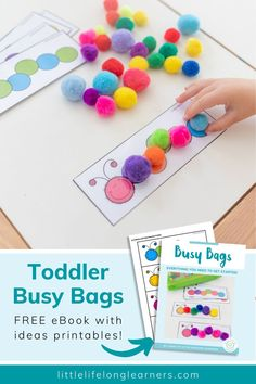 Activities For 5 Year Olds, Crafts For 2 Year Olds, Indoor Activities For Toddlers, Quiet Time Activities, Preschool Learning Activities, Infant Activities, Classroom Activities, Busy Bags For 2 Year Olds, Daycare Crafts