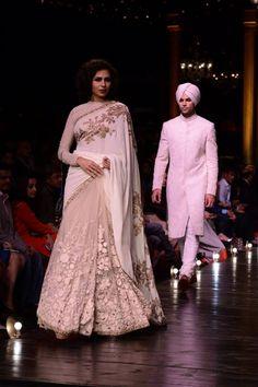 No one does lace like Sabyasachi Mukherjee. #Bridelan