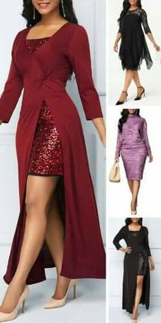 It& a unique find that& perfect for the formal party,a night at the theater or any special occasion such as Christmas party ,welcom the holiday season Pair it up with jewelry to dress it up for your next party - Elegant Dresses, Beautiful Dresses, Cute Dresses, Formal Dresses, Beautiful Gorgeous, Dresses With Sleeves, African Fashion Dresses, African Dress, African Attire