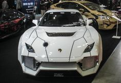 It might look like a Lamborghini, but it's actually a customized Mazda RX-7 from kind-red ...