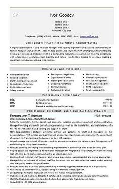 HR Administration,  IT Finance...