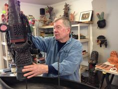 Bill Stewart's work is also available in the Gallery Store. At Axom Gallery ::  Bill's talk will be of special interest to anyone who wants to learn more about a pivotal time in the Craft - Art Movement.