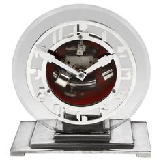 ATO Art Deco Clock   From a unique collection of antique and modern clocks at http://www.1stdibs.com/furniture/more-furniture-collectibles/clocks/