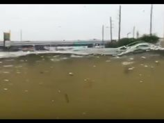Video: Man Drives His Hummer H1 Underwater In Houston Flood   John Hawkins' Right Wing News