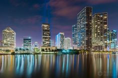 Fotograferen Miami Brickell Skyline door Mark den Hartog op 500px