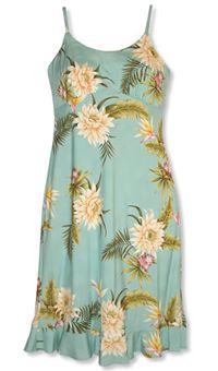 Kamalii Mountain Hawaiian Dress