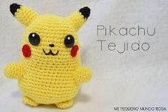 Pikachu Amigurumi crochet pattern