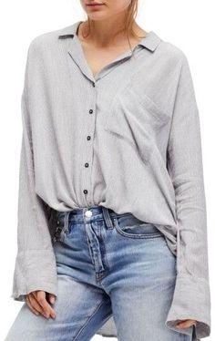 0ba75205 Women's Free People Magic Breeze Shirt Tunic Shirt, Blouse, Button Up Shirts,  Breeze