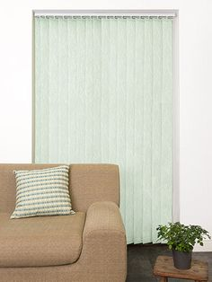 Cadence Aqua Green Vertical Blind from Blinds 2go