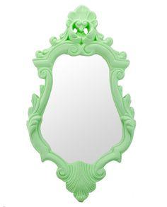 Espelho Versalhes Verde Menta 46 cm