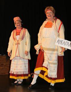 Karjalan Liitto :: Kansallispuvut ja kansanpuvut: Äyräpää Folk Costume, Costumes, Ancient History, Folklore, Finland, Scandinavian, Textiles, Saree, Traditional