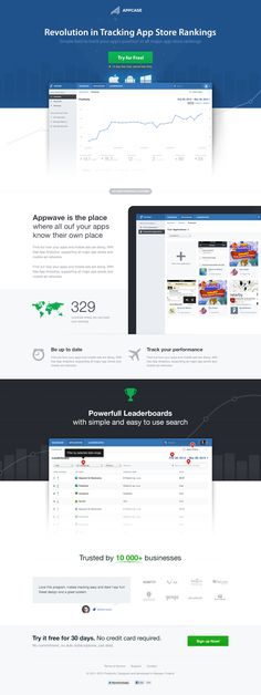 Appcase landing pages Homepage2