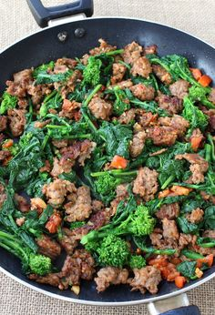 Rigatoni with Sausage and Broccoli Rabe tastes just like it came from ...