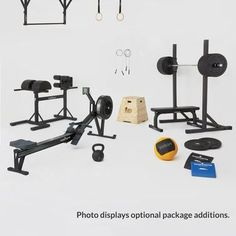 Home Gym: Intensity Crossfit Home Gym, Crossfit Equipment, Home Gym Equipment, At Home Gym, No Equipment Workout, Workout Gear, Workout Essentials, Workout Outfits, Workout Tanks