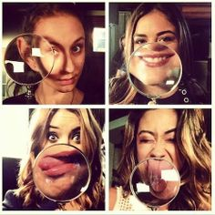Troian, Lucy, Ashley and Shay