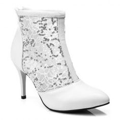 SHARE & Get it FREE | Ladylike Sequins and Pointed Toe Design Short Boots For WomenFor Fashion Lovers only:80,000+ Items • FREE SHIPPING Join Nastydress: Get YOUR $50 NOW!