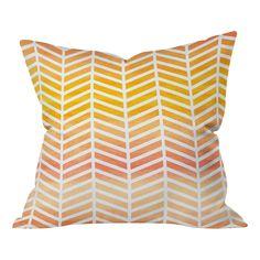 DENY Designs Rebecca Allen Sunset Bliss Indoor/outdoor Throw Pillow   AllModern