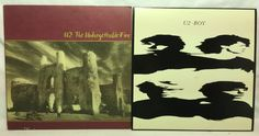 U2 Lot of 2 Vinyl Record Albums - The Unforgettable Fire and Boy #SingerSongwriter