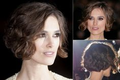 Keira Knightley - Best, celebrity, bobs, bob, bobbed, hair, hairstyles, haircut, inspiration, celebs, beauty, Marie Claire