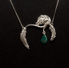 Spirit Horse Protection Pendant