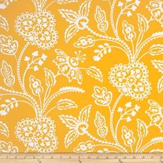 Garden Party Garden Floral Tonal Yellow Fabric By The YD by Michael Miller, http://www.amazon.com/dp/B00AB4HYH2/ref=cm_sw_r_pi_dp_hF-Hrb0YW8V94