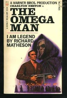 the omega man paperback  book