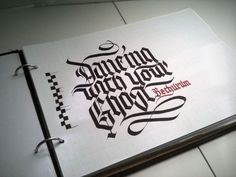 Inspiração Tipográfica #120 - Choco la Design | Choco la Design | Design é como chocolate, deixa tudo mais gostoso.
