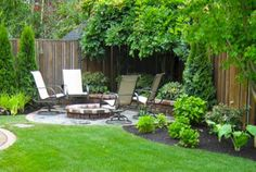 Simple and fresh small patio design ideas 17