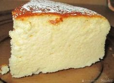 Ceviche, Cake Recipes, Dessert Recipes, Japanese Cheesecake, Refreshing Desserts, Moon Cake, Polish Recipes, Food Hacks, Vanilla Cake