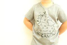 HOLY GUACAMOLE! CUTEST KIDS SHIRT! WE LOVE KAWAII AND FOOD PUNS!