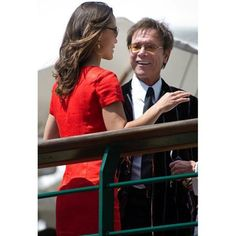 Wimbledon 2012 Cliff with Pippa Middleton