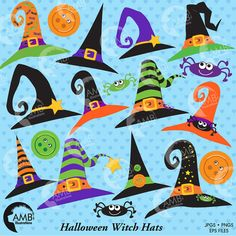 80% OFF SALE ENDS SOON HURRY!   Witch hats for halloween! Yes Halloween is here…