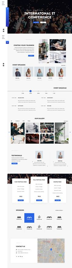 GoEvent – modern, clean and professionally crafted PSD template suitable for conferences, events, music festivals, meetings, and webinars. #webdesign