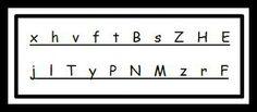 """One Breath"" Ticket / Letter Identification"