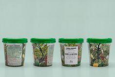 We Love This Botanical Inspired Ice Cream — The Dieline | Packaging & Branding Design & Innovation News